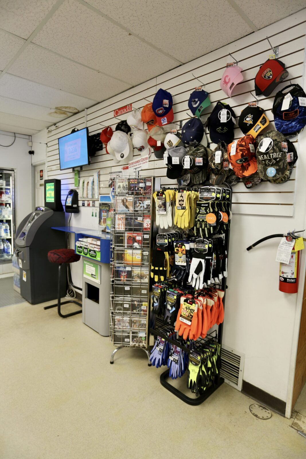 Blue Bell Inn Convenience Store ATM and Accessories